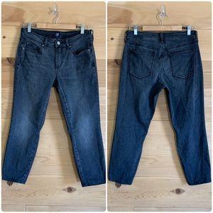 GAP 29P Curvy True Skinny Gray Stretchy Jeans